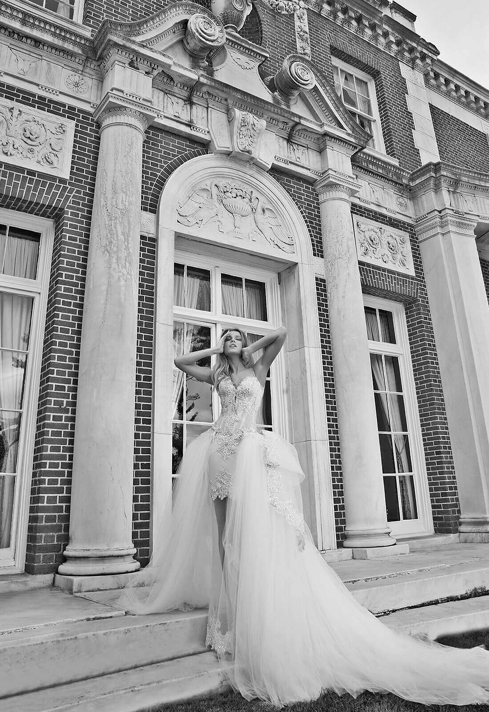 Weddinspired | 50+ Detachable Skirt Wedding Dresses | Pnina Tornai from the Butterfly collection