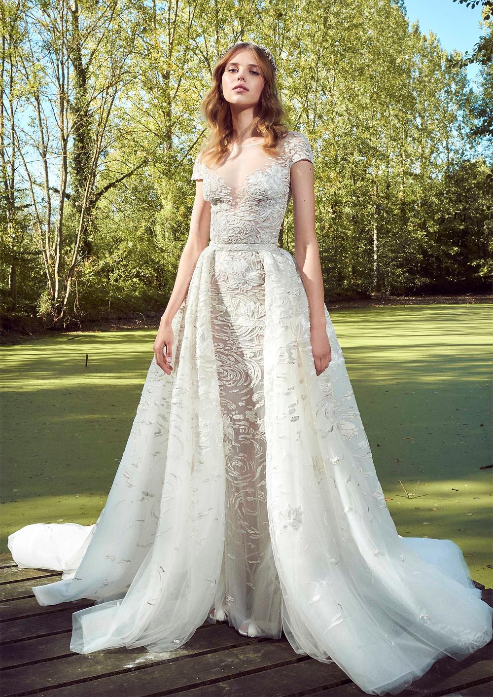 Weddinspired | 50+ Detachable Skirt Wedding Dresses | Zuhair Murad from the Fall 2019 collection