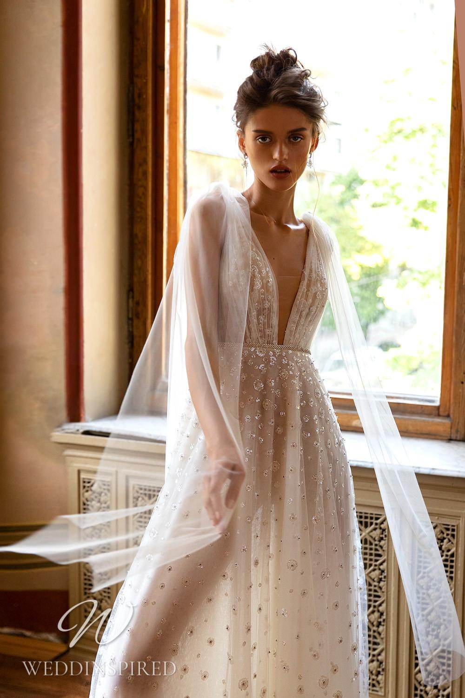 A WONÁ Concept 2021 ivory tulle A-line wedding dress