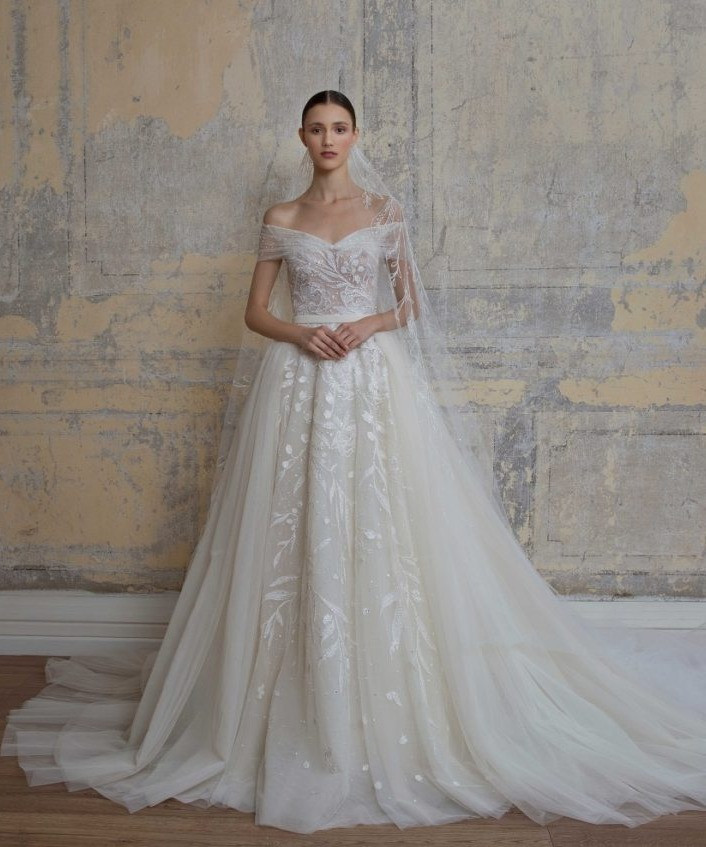 Weddinspired | 50+ Detachable Skirt Wedding Dresses | Georges Hobeika from the S/S 2020 collection
