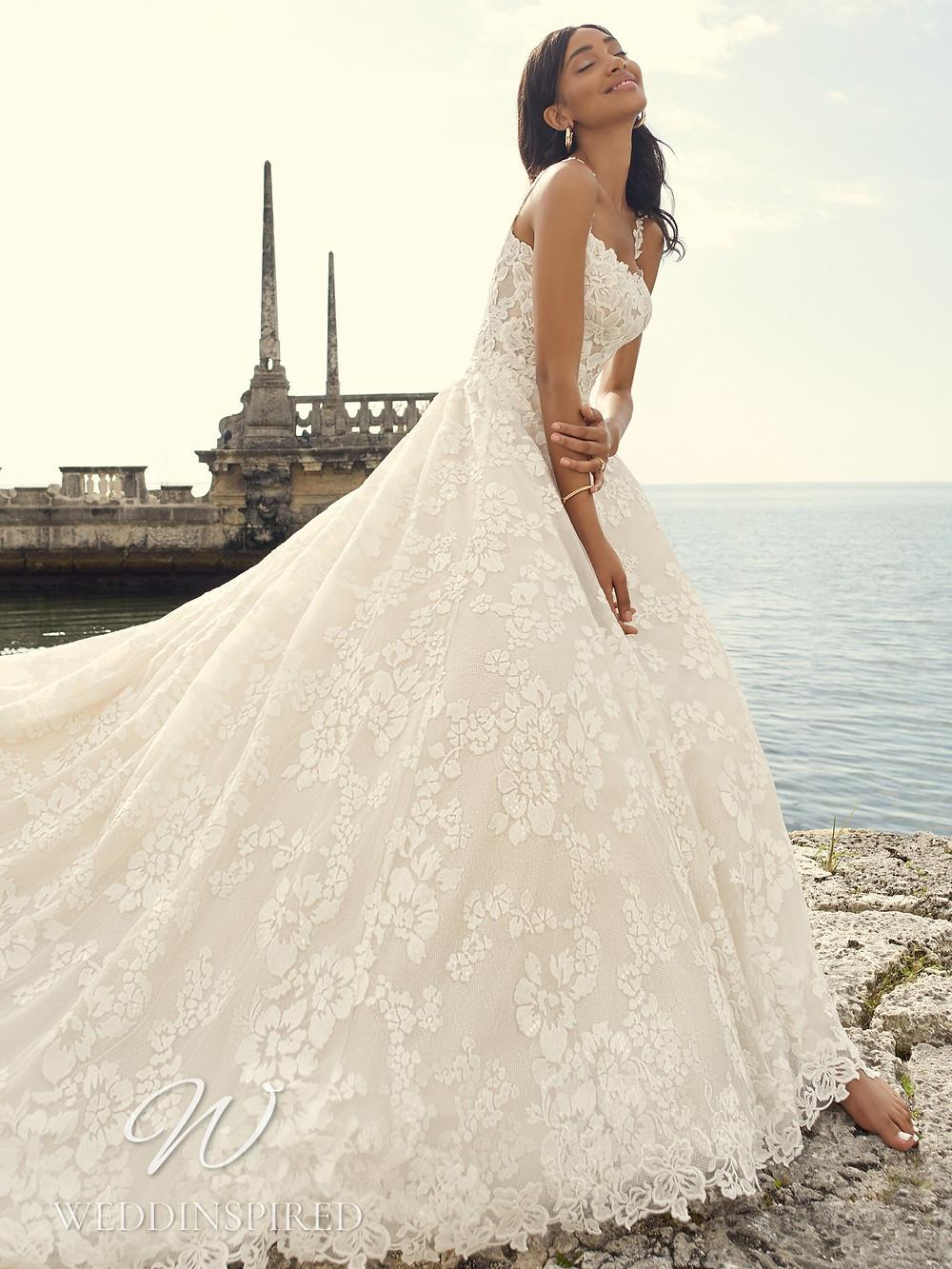 A Sottero & Midgley 2021 lace princess wedding dress