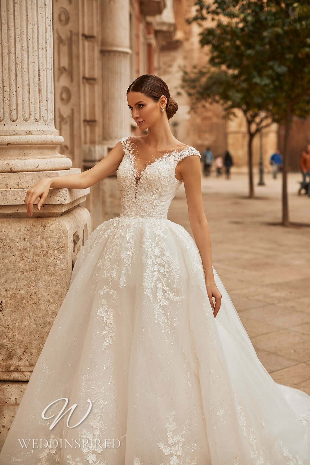 A Royal by Naviblue 2021 tulle and lace princess wedding dress