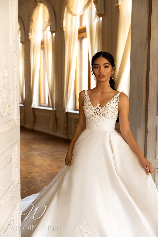 A WONÁ Concept 2021 lace and satin princess wedding dress