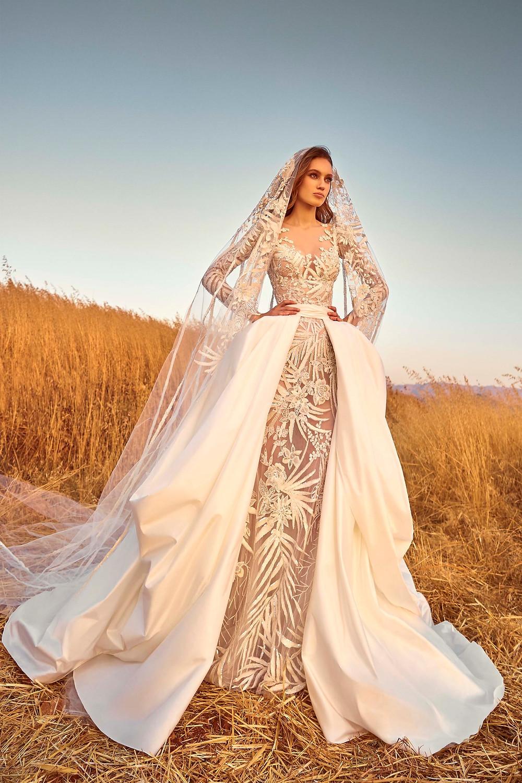 Weddinspired | 50+ Detachable Skirt Wedding Dresses | Zuhair Murad from the Fall 2020 collection