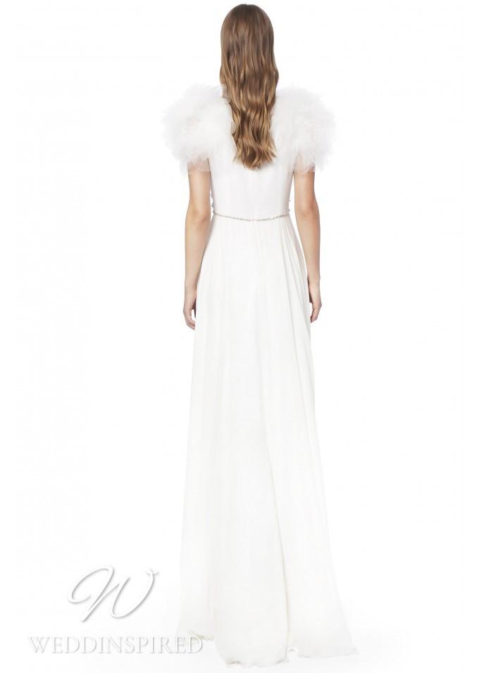 A Jenny Packham 2021 sheath wedding dress