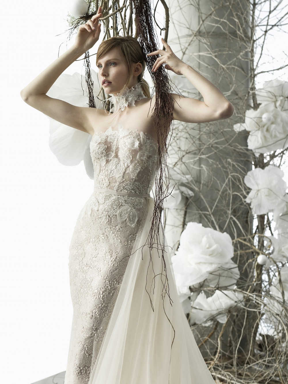 Weddinspired | 50+ Detachable Skirt Wedding Dresses | Mira Zwillinger from the Over the Rainbow S/S 2018 collection