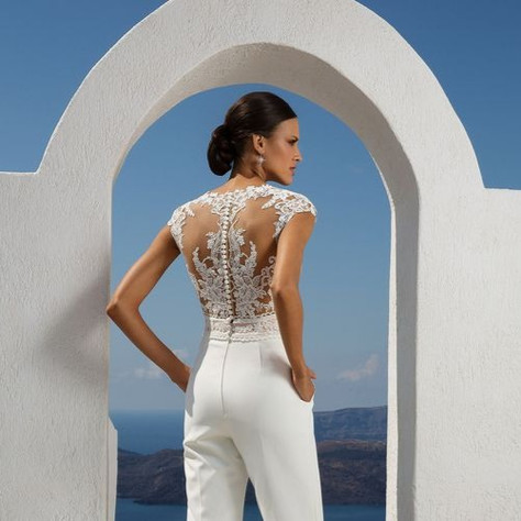 30+ Trendy Wedding Jumpsuits