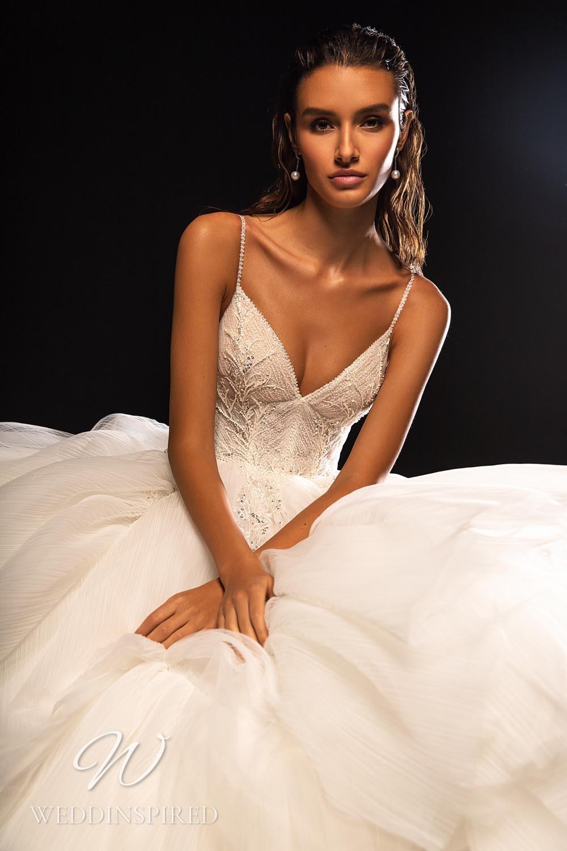 A WONÁ Concept 2021 chiffon A-line wedding dress