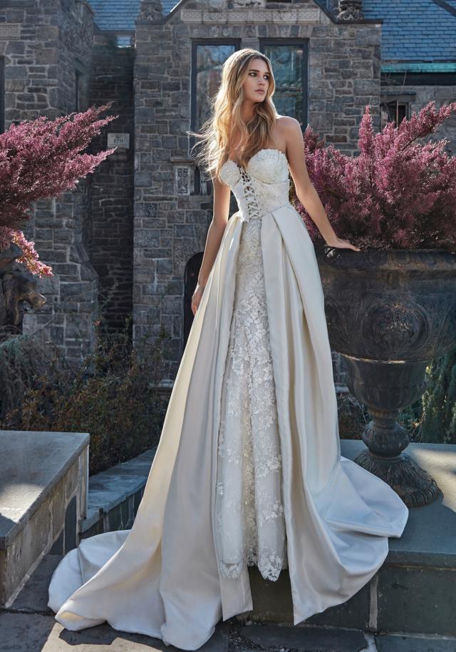 Weddinspired | 50+ Detachable Skirt Wedding Dresses | Galia Lahav from the Le Secret Royal Part I collection