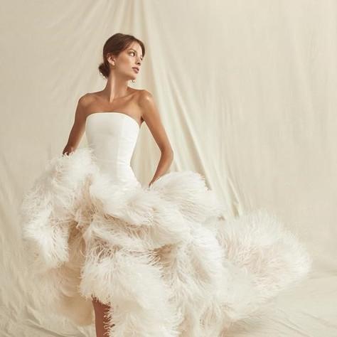 Oscar de la Renta Spring 2021 Wedding Dresses