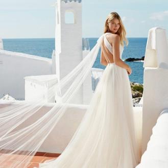 Aire Barcelona 2021 Aire Beach Wedding  Dresses