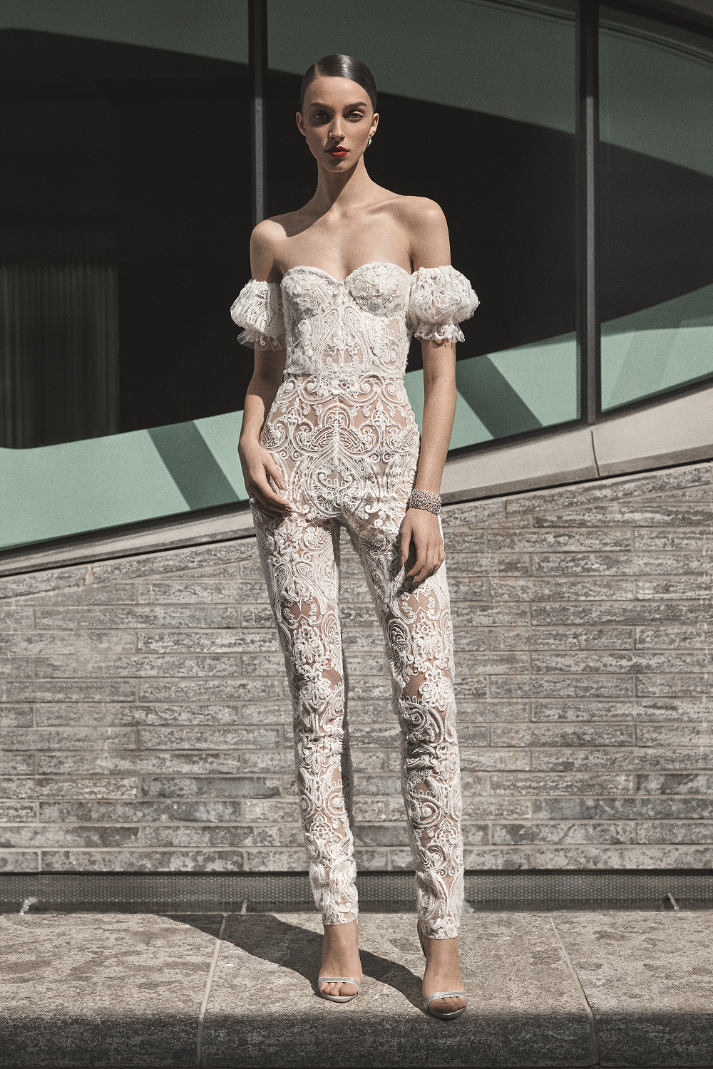 Weddinspired | 30+ Trendy Wedding Jumpsuits | Naeem Khan from the Fall 2019 collection