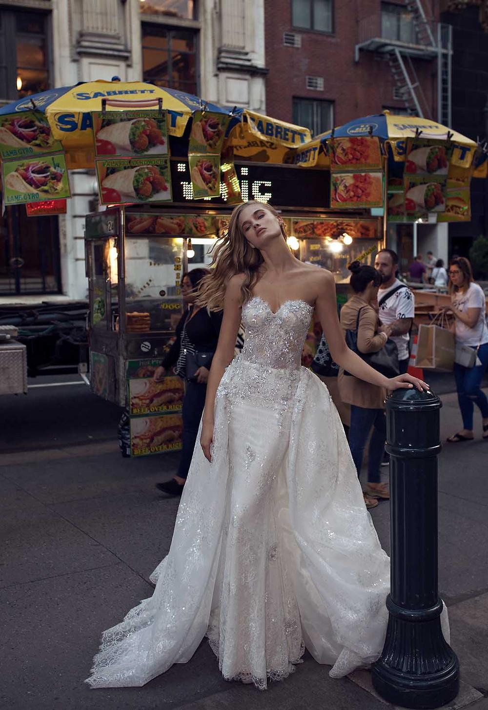 Weddinspired | 50+ Detachable Skirt Wedding Dresses | Pnina Tornai from the Dream collection