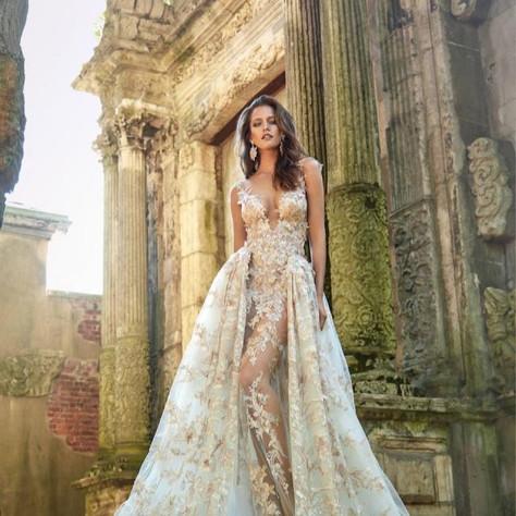 50+ Detachable Skirt Wedding Dresses
