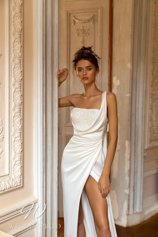A WONÁ Concept 2021 sexy satin mermaid wedding dress