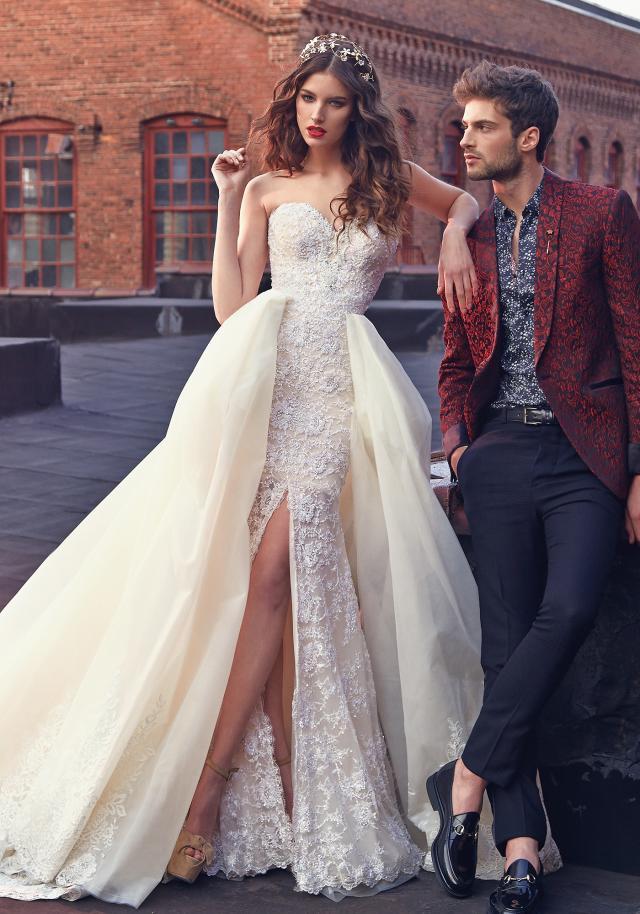 Weddinspired | 50+ Detachable Skirt Wedding Dresses | Galia Lahav from the Les Reves Bohemians collection