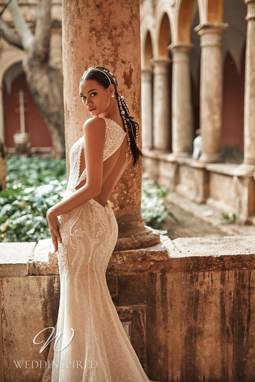 A Royal by Naviblue 2021 lace backless mermaid wedding dress