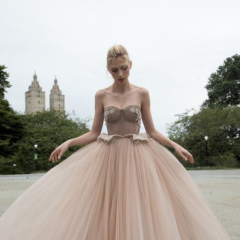 35+ Romantic Blush Ball Gown Wedding Dresses