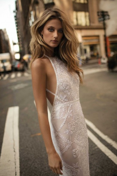 Weddinspired | 35+ Stylish Halterneck Wedding Dresses | Berta - From the F/W 2017 collection