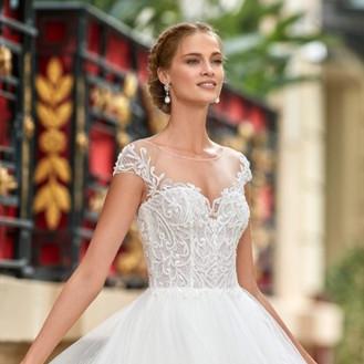 Aire Barcelona 2021 Aire Diamond Wedding Dresses