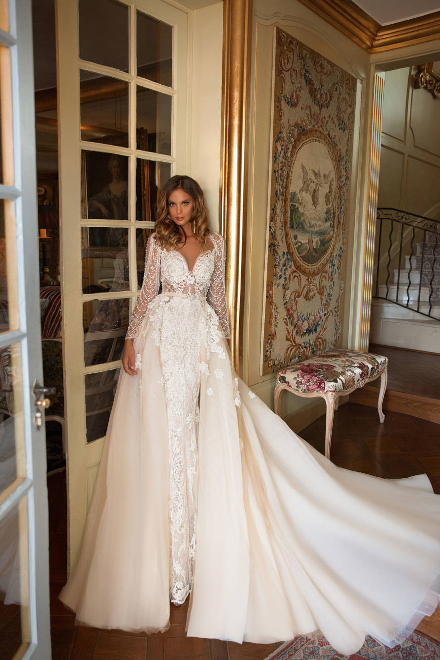 Weddinspired | 50+ Detachable Skirt Wedding Dresses | Milla Nova from the Once in the Palace collection