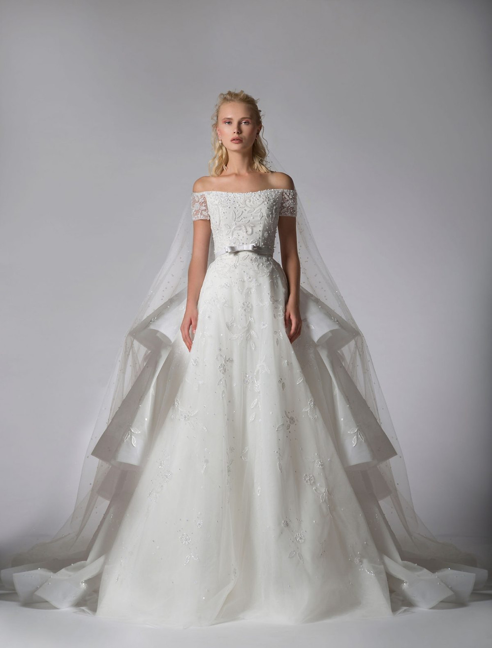 Weddinspired | 50+ Detachable Skirt Wedding Dresses | Georges Hobeika from the Bridal 19 -20 collection