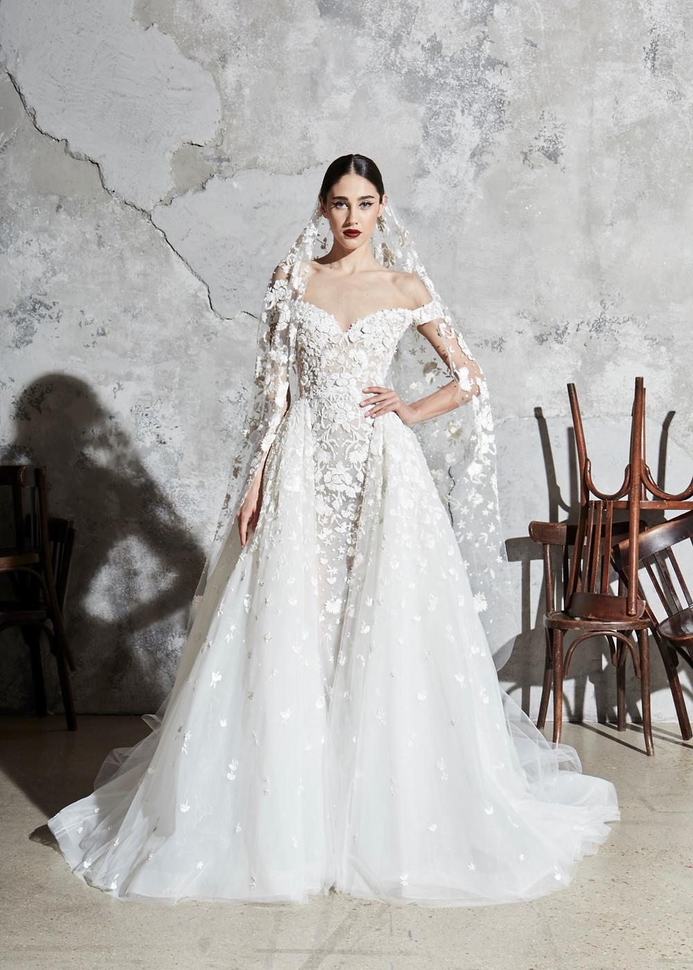 Weddinspired | 50+ Detachable Skirt Wedding Dresses | Zuhair Murad from the Spring 2020 collection