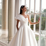 25+ One Shoulder Wedding Dresses