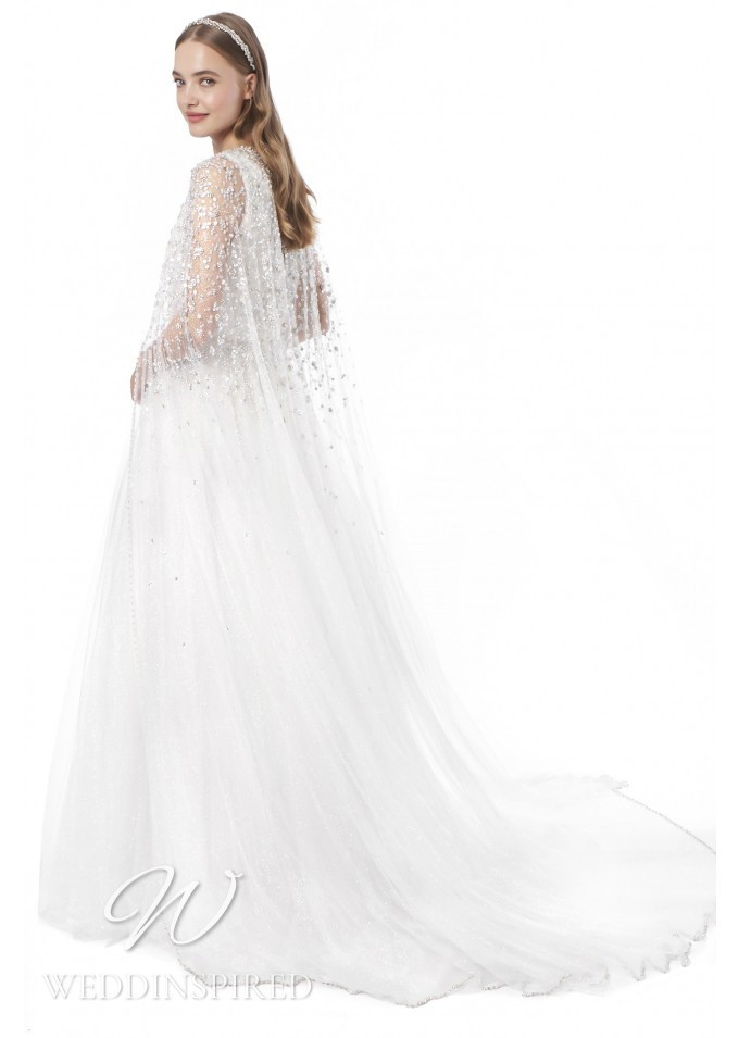 A Jenny Packham 2021 tulle A-line wedding dress