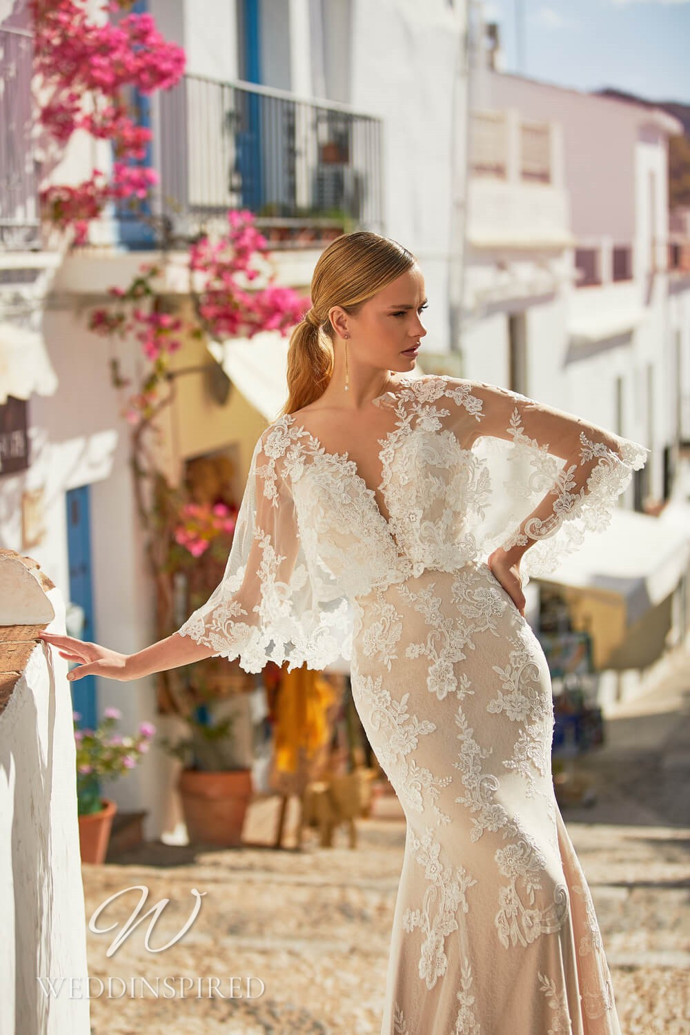 An Essential by Lussano 2021 lace mermaid wedding dress