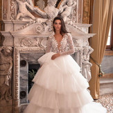 30+ Layered Skirt Wedding Dresses