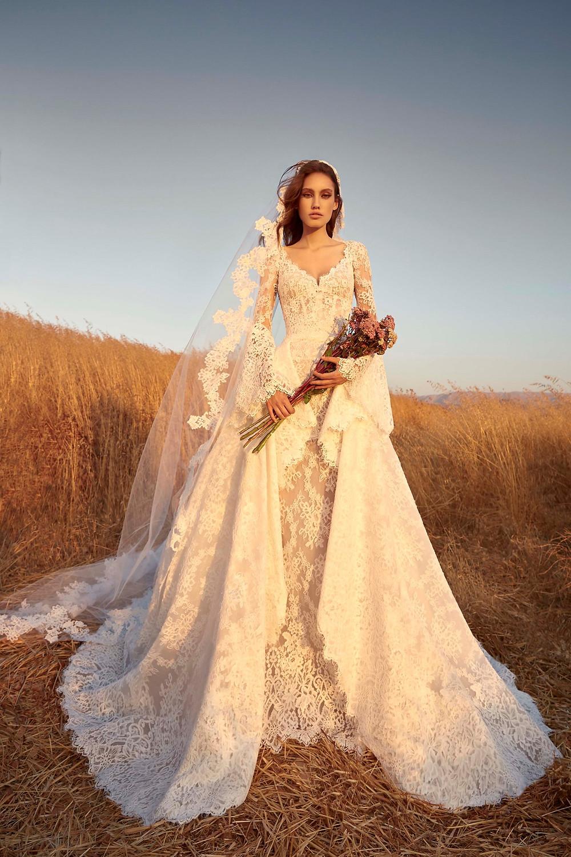 Weddinspired | 50+ Detachable Skirt Wedding Dresses | Zuhair Murad from the F/W 2020 collection