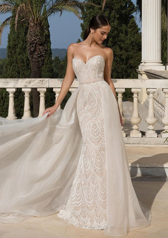 Weddinspired | 50+ Detachable Skirt Wedding Dresses | Justin Alexander from the S/S 2020 collection