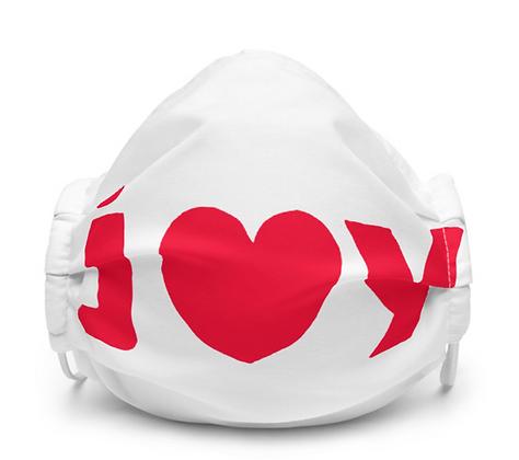JOY Face Mask White
