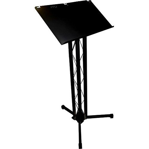 Lectern Stand Hire (Black)