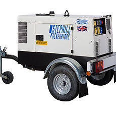 10 KVA Silenced Diesel Generator
