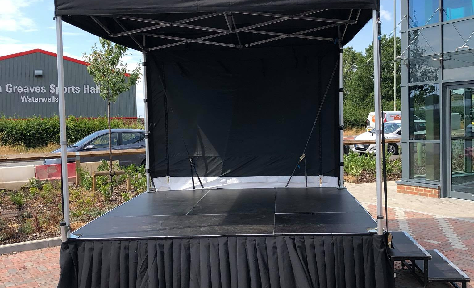 Outdoor Staging Stage Events Hire