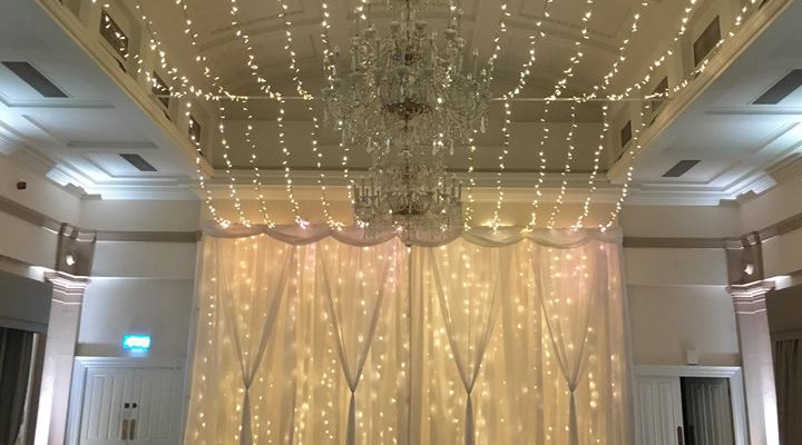 Macdonald Bath Spa Hotel Fairy lighting.