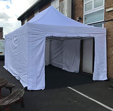 White Gazebo Hire Gloucester