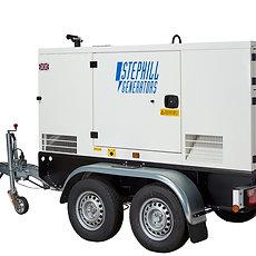 70KVA Silenced Diesel Generator