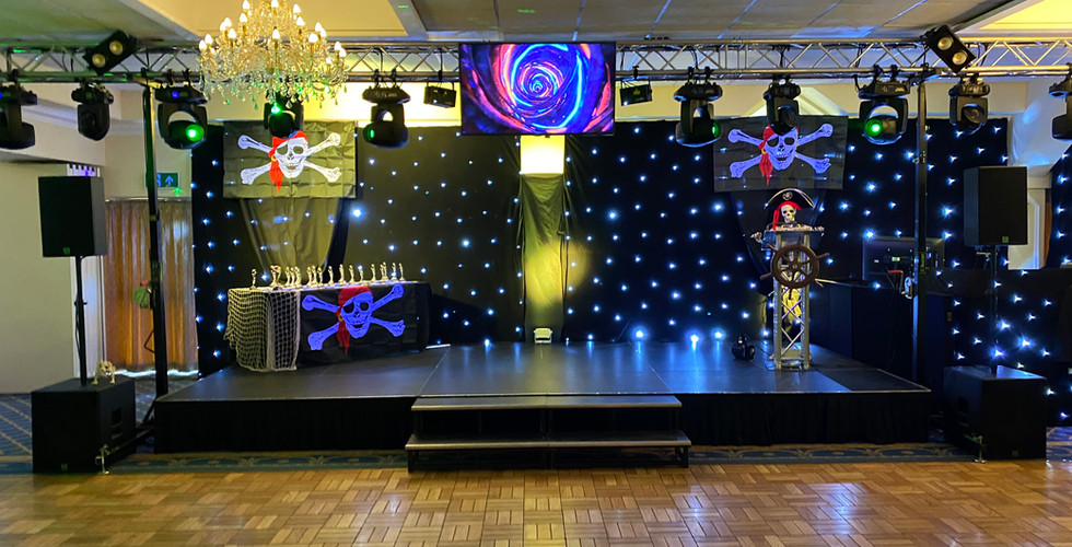 Stage and lighting hire