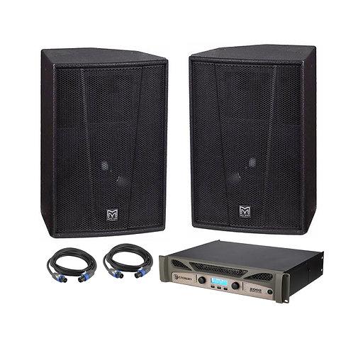 Martin Audio F12 Speakers