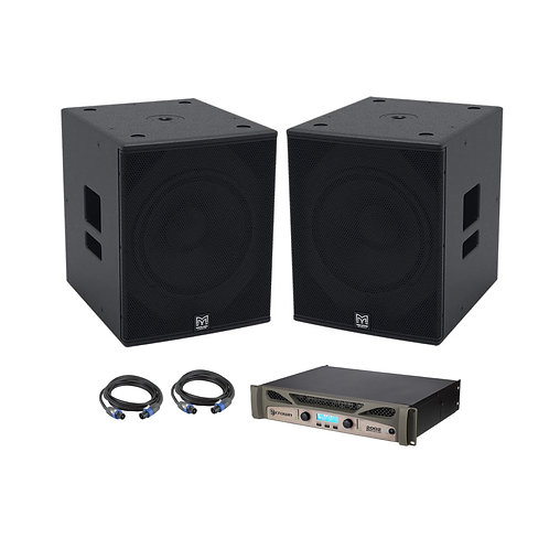 Martin Audio X115B Sub Speakers