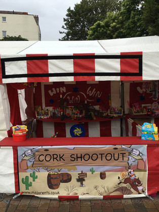 Cork Shooting Stall Hire Gloucestershire