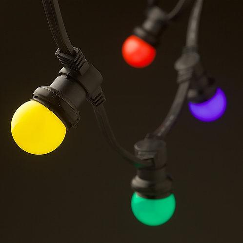 Festoon Lighting Colour Bulbs