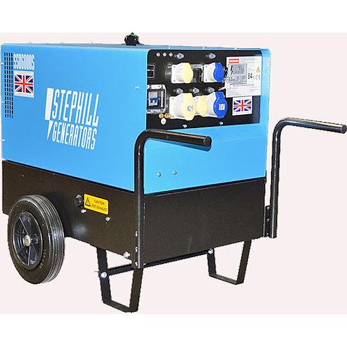 6.0 KVA Silenced Diesel Generator