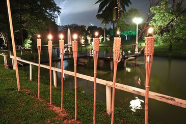 Bemboo Torches Hire