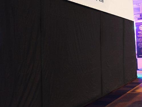 Black Drape (2m x 3m)