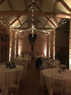 Fairy Lighting Barn at upcote 2.JPG