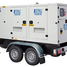 100KVA Silenced Diesel Generator